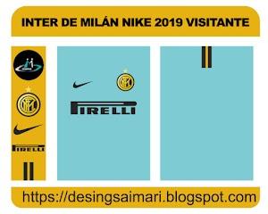 Inter de Milán Nike 2019 Visitante FREE DOWNLOAD
