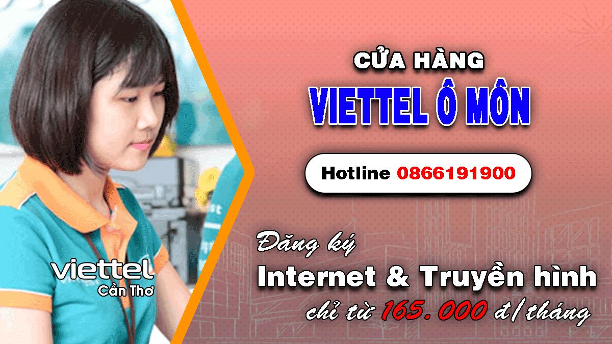 Cửa hàng Viettel Ô Môn - Cần Thơ