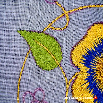 Hand Embroidery Simple Designs, Hand Embroidery Designs for Blouse Back