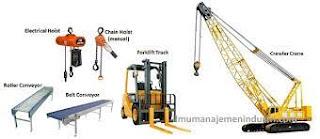 Perencanaan Proses Pemindahan Bahan (Material Handling)
