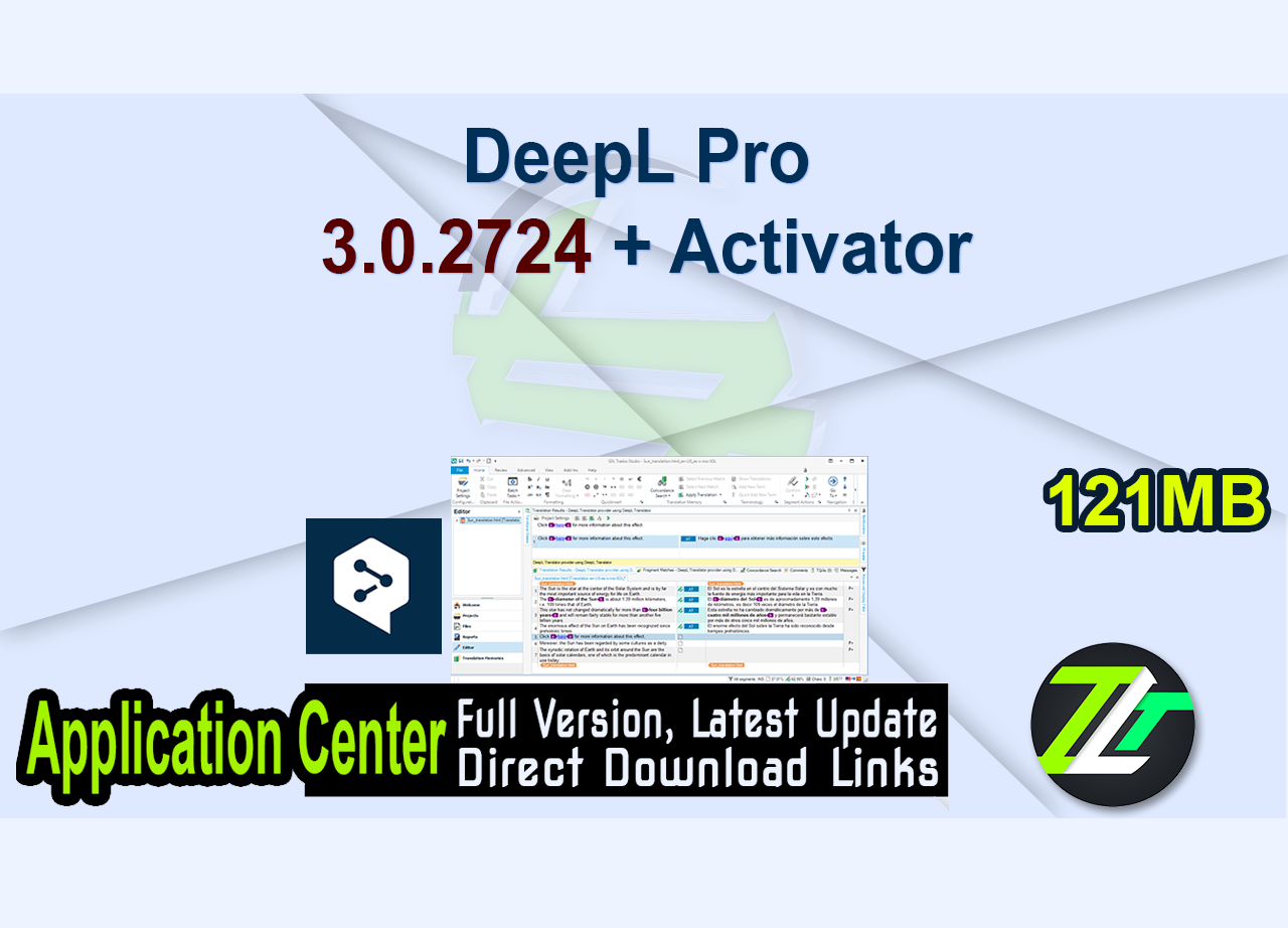 DeepL Pro 3.0.2724 + Activator