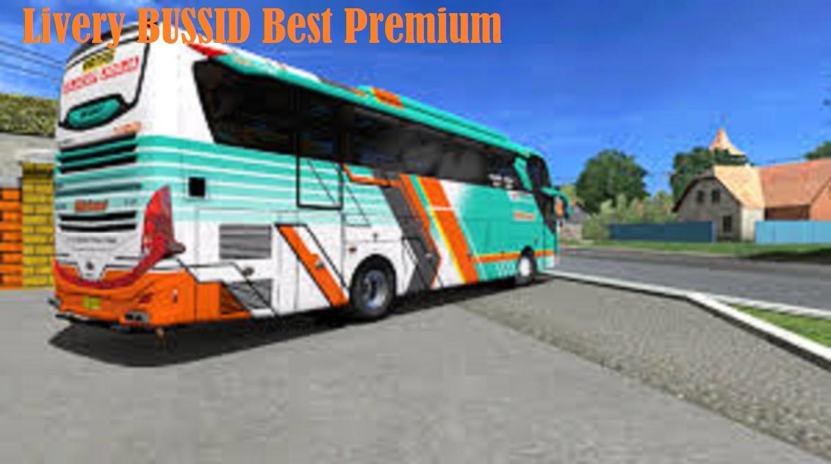 Livery BUSSID Best Premium