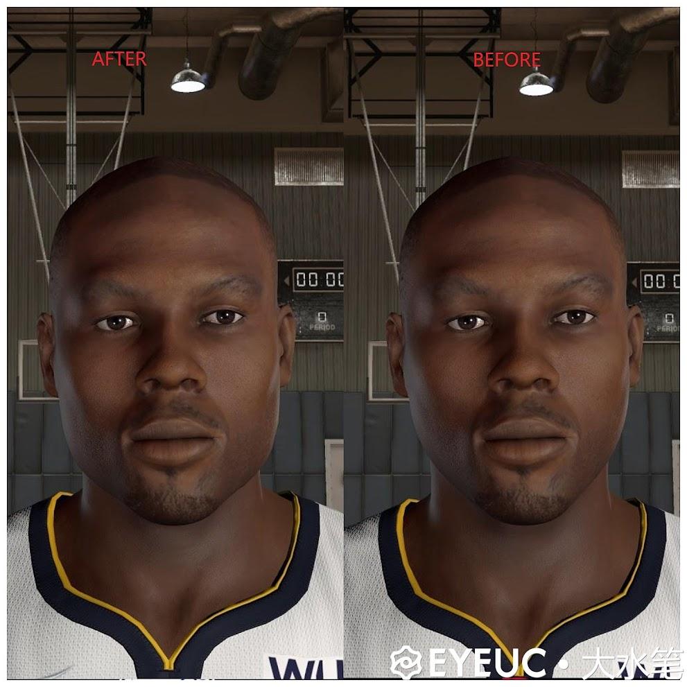 NBA 2K22 Elton Brand Cyberface and Body Model by Big Pen