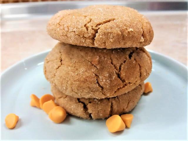 Γεμιστά μπισκότα με φιστικοβούτυρο