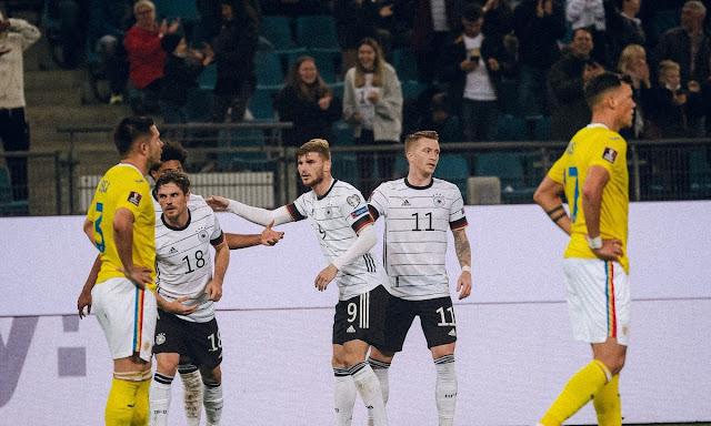 ملخص أهداف مباراة المانيا ورومانيا (2-1) تصفيات كاس العالم