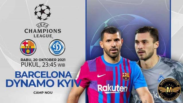 Prediksi Barcelona Vs Dinamo Kiev