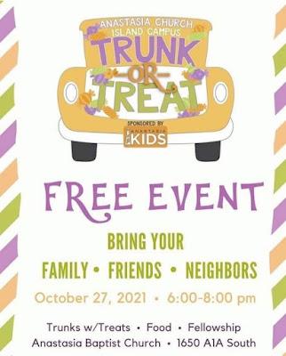 Trunk and Treat Anastasia Baptist Church St. Augustine, FL