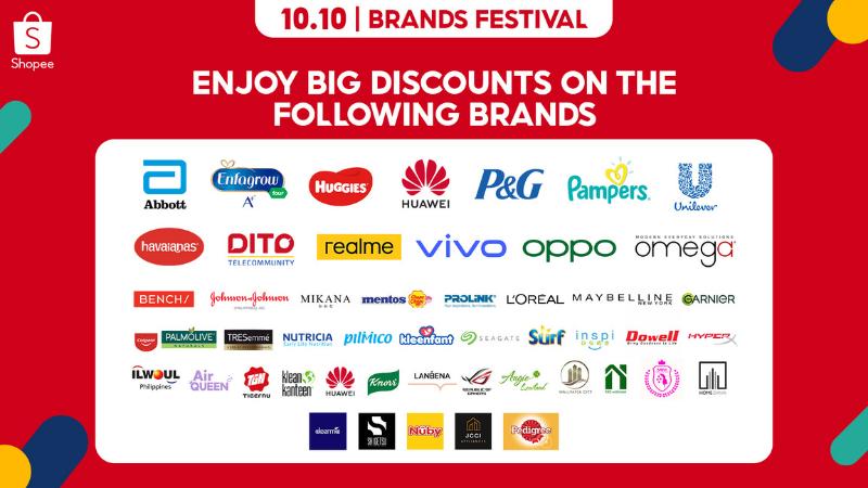 Patty Villegas - The Lifestyle Wanderer - Shopee - 10-10 - Brands Festival - Sale