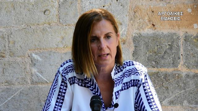Μαρία Ράλλη: Θα συνεχίσω με την ίδια θέληση, για να δούμε το Δήμο Ναυπλιέων όπως τον ονειρευόμαστε