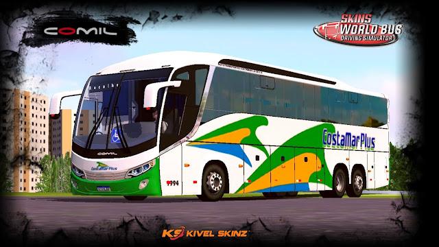 COMIL 1200 6X2 - VIAÇÃO COSTA MAR PLUS