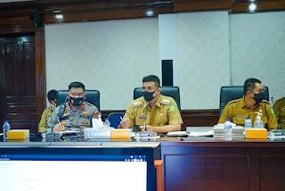 Rapat Bersama Tim Saber Pungli,  Wali Kota Minta Tim Lebih Aktif Tekan Pungli di Medan