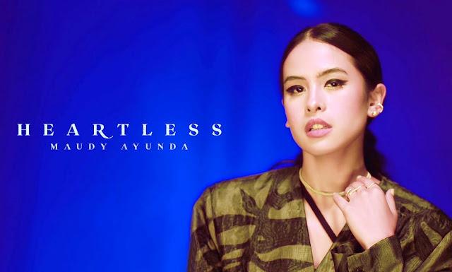 Lirik lagu Maudy Ayunda Heartless dan Terjemahan