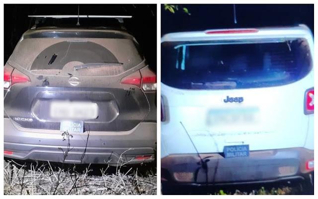 Polícia recupera dois carros roubados de hóspedes durante arrastão em hotel no RN