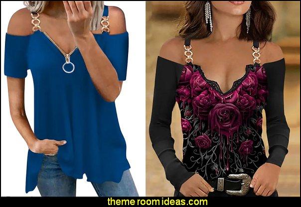 womens summer top fashion short sleeve strapless casual t-shirt