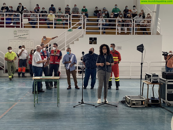 Cabildo y ayuntamientos informaron sobre la actividad vulcanológica y lanzaron un mensaje de tranquilidad a la población de Mazo y Fuencaliente