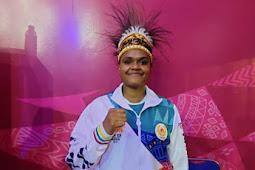 Atlet Papua, Samice Juvita Kerlin MouTambah Medali Emas di Cabor Karate