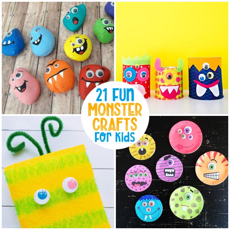 Monster Crafts for Kids