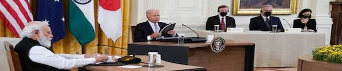 Sino-Wahabi Lobby Punishes Biden For AUKUS, Quad Summit