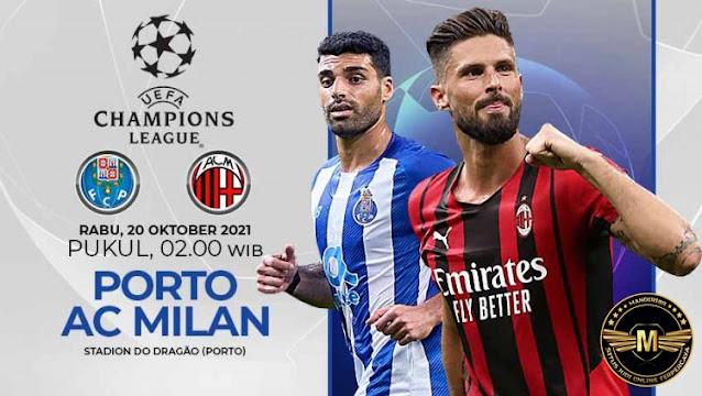 Prediksi FC Porto Vs AC Milan