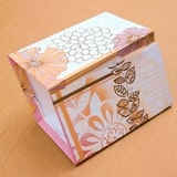 Sparkly Paper Lanterns Craft step 7a