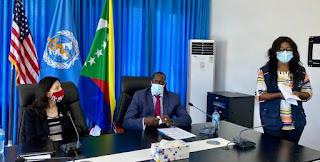Les États-Unis accordent 200 000 USD d'aide urgence pour lutter contre le Covid-19 aux Comores