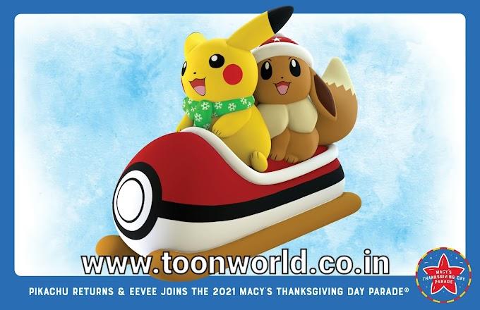 Pokemon Gets New Macy's Thanksgiving Day Balloon