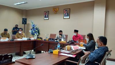 Hearing DiTunda, Dinas Kebudayaan Sulut Tak Siap Data Pelaporan