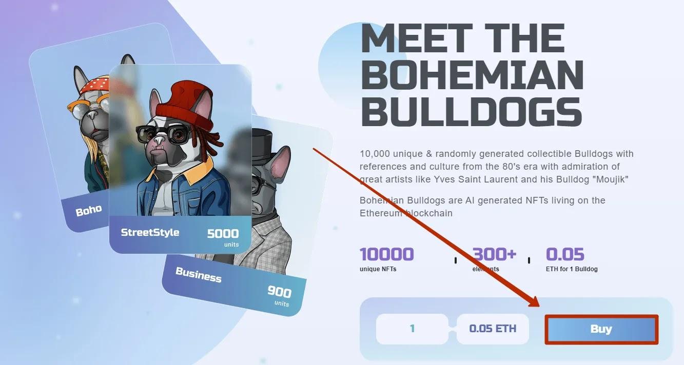 Создание депозита в Bohemian Bulldogs