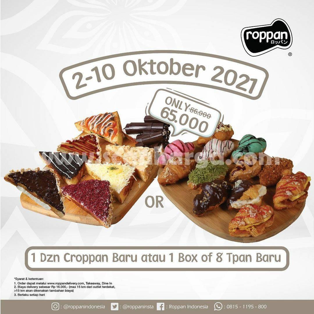 ROPPAN Promo Terbaru 1 Dzn Croppan (1 Box of 8 Tpan) cuma Rp. 65.000