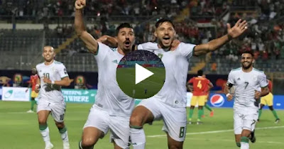 مباراة الجزائر والنيجر