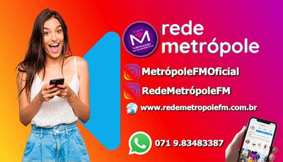 Ouvir agora Rede Metrópole FM 89.7 - Goiânia / GO