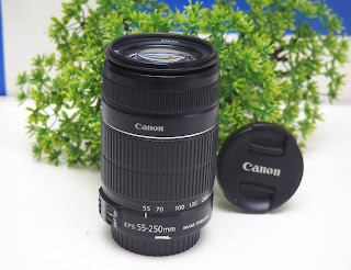 Lensa Canon 55-250mm IS2