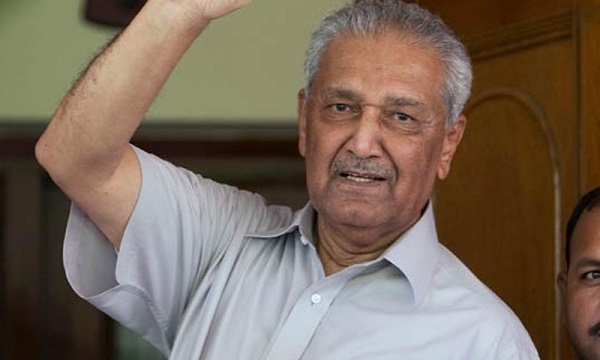Dr. Abdul Qadeer Khan will be Buried in the Premises of Faisal Mosque, at 3:30 PM Prime Minister