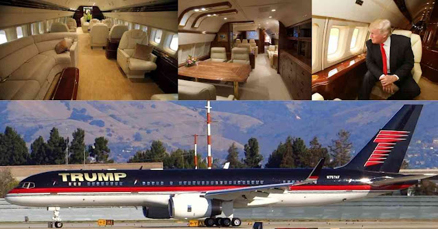 Most Luxurious Private Planes In The World - Boeing 757 - Moniedism