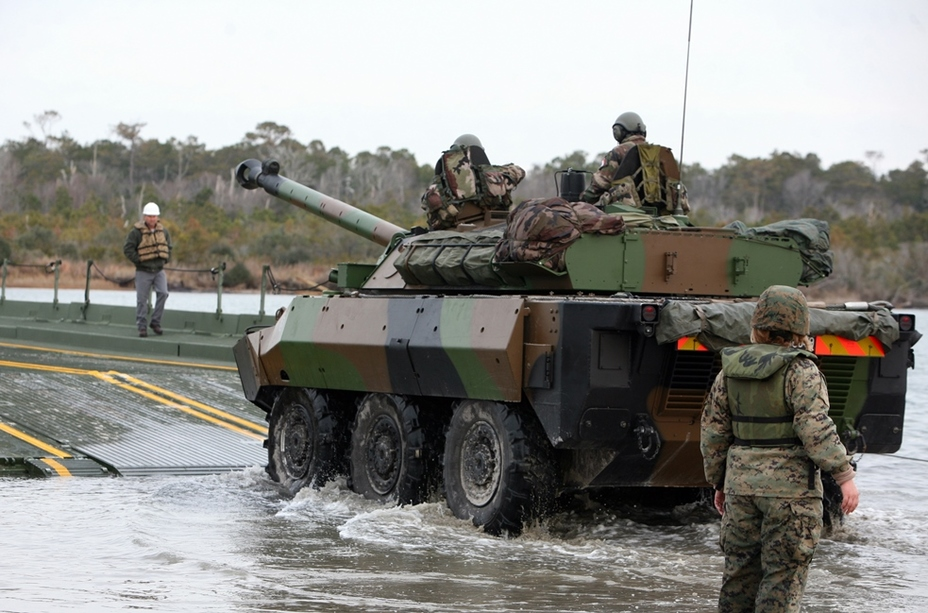 AMX-10RCR на навчаннях «Боулд Алігатор», 2012 рік