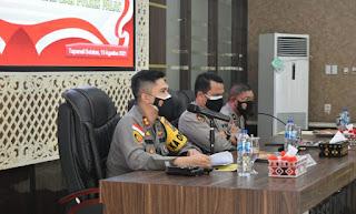 Biro SDM Polda Sumut Gelar Supervisi Dan Sosialisasi Pembinaan Fungsi SDM Untuk Polres Tapsel dan Polres Palas