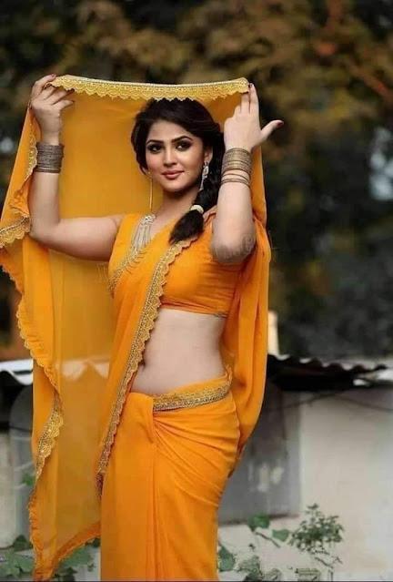 yellow sari me ladki ka photo download