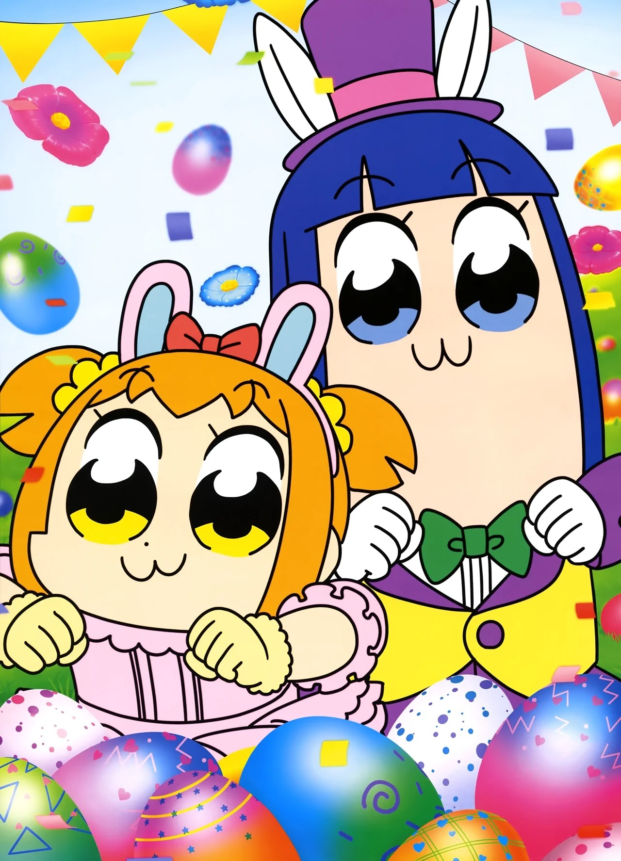 O Anime Pop Team Epic é relançado com novo Elenco de Voz  e 'Novos Desenvolvimentos'