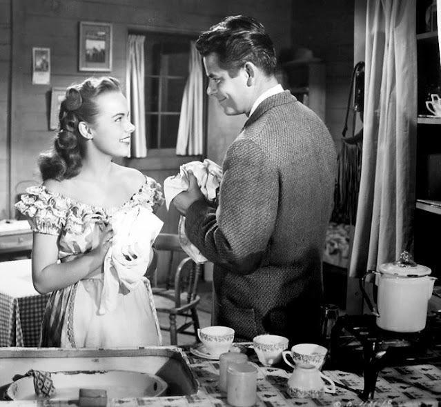 1948. Terry Moore, Glenn Ford - The return of october