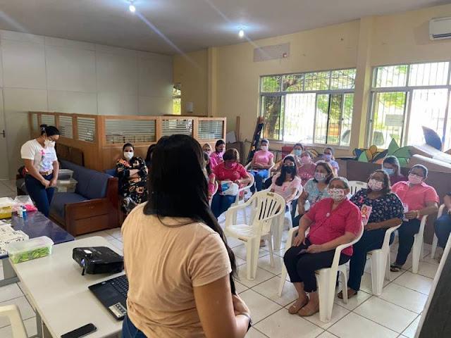 Outubro Rosa: Prefeitura de Santarém realiza ações em 13 secretarias