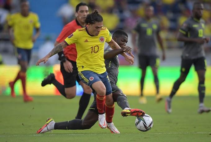 ¡'Atraco' en Barranquilla! Con la intervención del peruano Diego Haro, Colombia no pudo vencer a Ecuador y ya sufre de 'empatitis' en la Eliminatoria