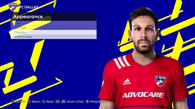 Facundo Quignon Face For eFootball PES 2021