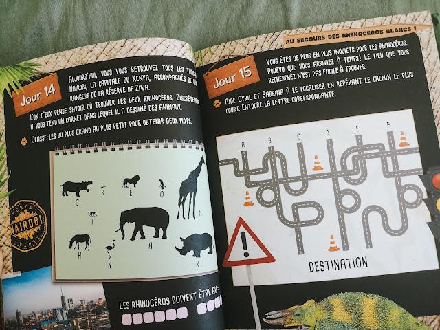 Escape Book Animaux en danger!