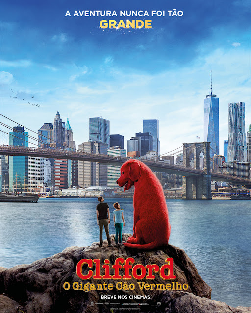 Paramount libera trailer oficial de Clifford - O Gigante Cão Vermelho
