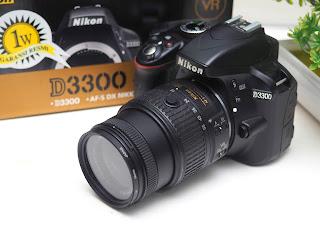 Nikon D3300 Second Fullset