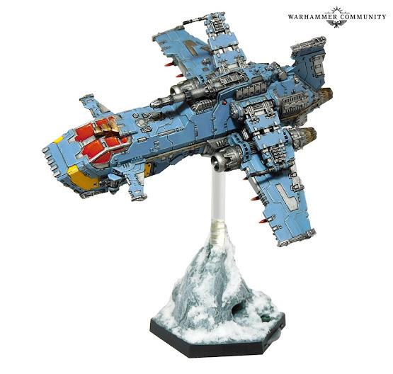 Thunderhawk Lobos Espaciales