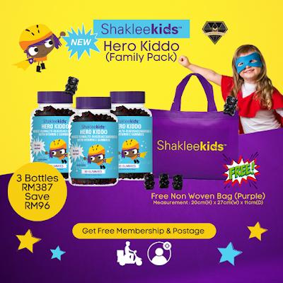 Promosi Shaklee Oct 2021 - Hero Kiddo