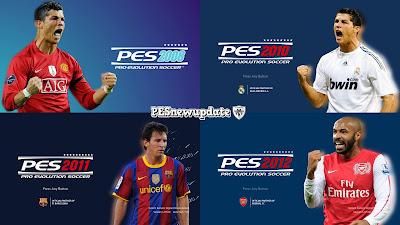 PES 2021 Classic Menu Mod V2 by PESNewupdate (PES 2008, PES 2010, PES 2011, PES 2012)
