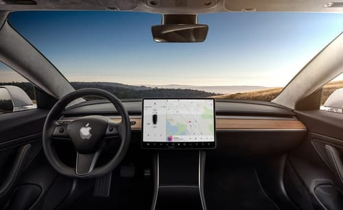 Apple cars can become a service not a product