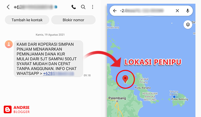 Cara Mengetahui Lokasi Penipuan Online Menggunakan Nomor Handphone